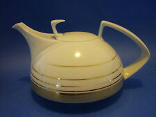 Rosenthal Studio-Line Dynamic Gold Tea Pot Tee-Kanne NEW