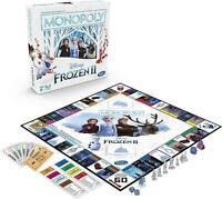 New Frozen 2 Monopoly Disney Family Board Game Hasbro Gaming