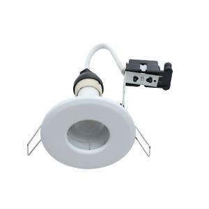 10 X OUTSIDE SOFFIT LIGHTS OR BATHROOM / SHOWER GU10 IP65 WATERPROOF LIGHTS