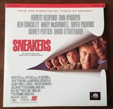 LASERDISC Movie: SNEAKERS - Robert Redford, River Phoenix, Dan Aykroyd +