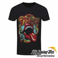 Official Rolling Stones Retro 70s Tour T-Shirt