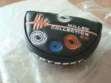 ODYSSEY MILLED COLLECTION MAGNETIC PUTTER HEADCOVER fits all # 9 & Rossie NEW
