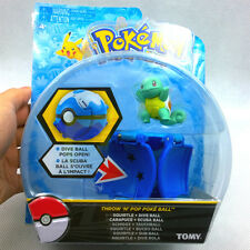 """New arrival Bounce Pokeball with Pokemon figure toys Squirtle 2"""" poke ball TOMY"""