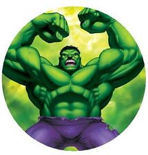 The Incredible Hulk Round Edible Cake Topper 19cm - Can be Personalised