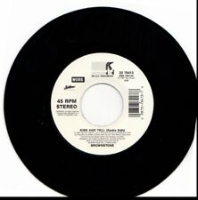 BROWNSTONE KISS AND TELL 45RPM VINYL