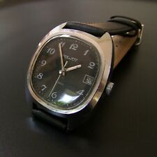 Black POLJOT vintage Russian watch from the 1960s | 17 jewels