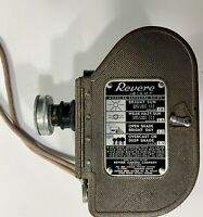 Vintage Rare 1940s Revere Eight 8mm Movie Camera Model 88 W/ 13mm Objective Lens