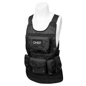 TACTICAL APRONS CHEFS KITCHEN BBQ PARTY COOKING MULTI-POCKET OUTDOOR BARBEQUE
