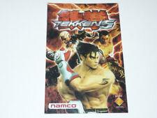 Anleitung Tekken 5 PS2  (Kein Spiel, nur die Anleitung)
