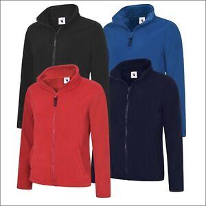 UNEEK Ladies Classic Full Zip Micro Fleece Women's Jacket Work Polyester Coat