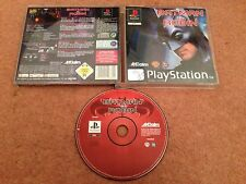 Batman & robin SONY PLAYSTATION 1 PS1 PS2 PS3 game official uk pal