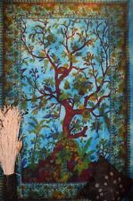 Tree of Life Hippie Tapestry Boho Wall Hanging Bedspread Ethnic Decor Art
