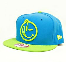 UK SELLER - New Era YUMS Outline Smiley & Bold 9FIFTY Snapback Cap Hat Turquoise