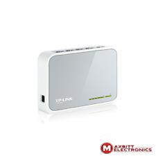 TP-LINK 5 Port Fast Ethernet Internet Switch Hub LAN Network RJ45 Splitter POWER