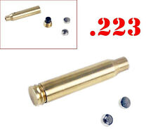 CAL .223 REM Red Laser Bullet Shaped Bore Sighter Cartridge Scope Guns Hot Sale