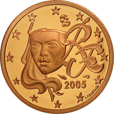 [#462123] France, 2 Euro Cent, 2005, BE, Copper Plated Steel, KM:1283