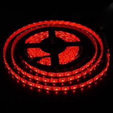 Red Waterproof 5050 SMD 300 LEDs 5M Ribbon Tape Light Flexible LED Strip DC 12V