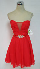 MASQUERADE Red Dance Homecoming Party Dress 5 - $80 NWT