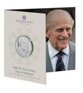 NEW** Royal Mint 2021 HRH Prince Philip Duke of Edinburgh BU £5 Coin Five Pounds