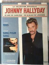 Johnny Hallyday La collection officielle Livre CD Sang pour sang