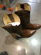 justin boots brown Leather size 8 C