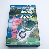 Radio Shack Talking Golf Tour Game (c)1998 Working  60-2684 Tandy