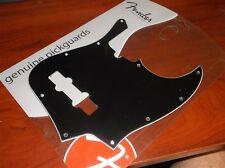 NEW - Fender Pickguard For American Standard J. Bass, BLACK, 099-1351-000
