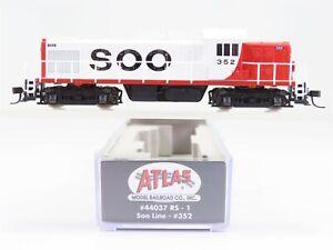 N Scale Atlas 44037 SOO Line Alco RS-1 Diesel Locomotive #352
