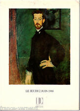Catalogue de vente Art Peinture Moderne Le Corbusier Modigliani Oguiss 1988