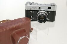 Vintage FED 3 Rangefinder Camera Russian SLR 35mm W/ 2.8 52mm Lens Industar 61