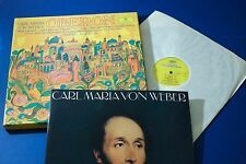 DG 2709 035 Weber Oberon Nilsson Bavarian Kubelik 3 LP STEREO BOX SET STEREO