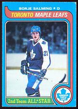 1979 80 OPC O PEE CHEE #40 BORJE SALMING NM TOROMTO MAPLE LEAFS HOCKEY CARD