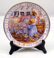 Franklin Mint Royal Doulton Teddy Says His Prayers Decorative Bone China Plate