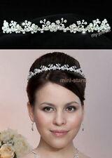 Bridal Wedding Prom Bridesmaid Headband Tiara use Swarovski Crystal T1132