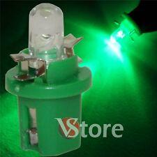 2 LED T5 B8.5D VERDE Lámparas Bombillas Para Dashboard Cuadro De Instrumentos