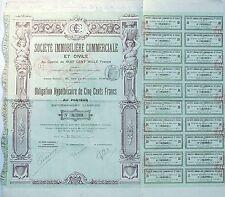 Paris II ème 92 Rue de Richelieu - Belle Ste Immobilière Commerciale de 1911