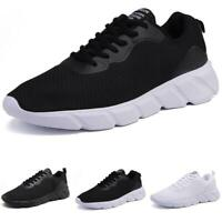 Mens Outdoor Running Sports Mesh Breathable Gym Casual Fashion Sneakers Shoes B