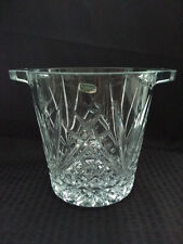 J.G. Durand Cristal Villemont style 24% Lead Crystal Ice Bucket