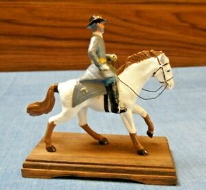 Vtg W Britain? Metal Toy Soldier Mounted on Horse Cavalry Farrier General