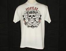 "Metal Mulisha Tattoo Tee Shirt ""Grumble"" Extra Large White - BNWT"