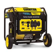 100519R - 5000/6250w Champion Digital Hybrid Inverter Generator - REFURBISHED