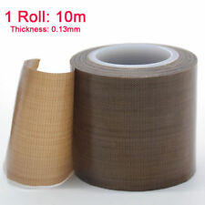 10m PTFE Teflon Tape Self Adhesive Heat Seal Vacuum Pack Packer ROLL Fiberglass