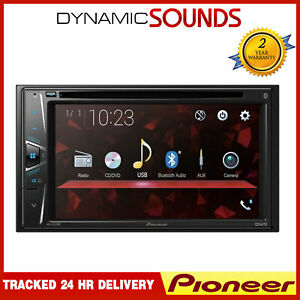 "Pioneer AVH-G220BT Double DIN 6.2"" Touchscreen In Car CD/DVD Player Tuner"