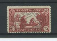 REGNO 1931 S. ANTONIO 75C. RARO(originale) 2 US.
