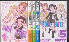 SOUL EATER NOT 1 à 5 Atsushi Ohikubo MANGA COMPLET Série en français