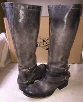 Freebird By Steven Irish Distressed Leather Boots Stone 6,7,8,9 Msrp $295 NIB