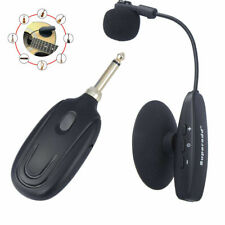UHF Wireless Instrument Microphone for Violin Guitar Accordion Bass Orchestra