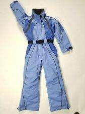 Obermeyer Monza Boys Girls Juniors SnowSuit Ski suit Size 10 Blue 1 Piece