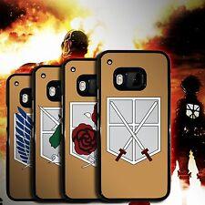 Attack on Titan for Htc One M7 M8 M9 one X Desire 816 M9 Plus Mini 2 Phone Case