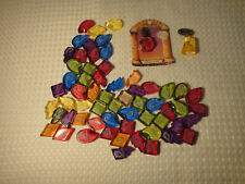 Harry Potter Collector Stones Plastic Gems lot of 60 & 2 Story Scopes